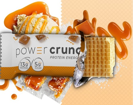 Power Crunch Bar Salted Caramel - 12 Bars