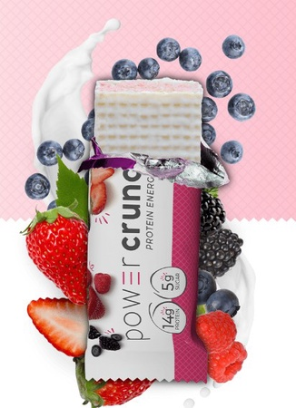 Power Crunch Bar Wild Berry Creme - 12 Bars  ($11.99 w/coupon code DPS10)   *Best by 2/21