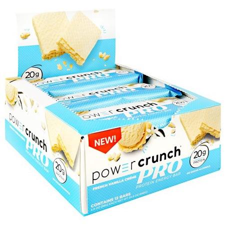 Power Crunch PRO Bar French Vanilla Creme - 12 Bars