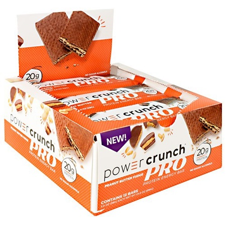 Power Crunch PRO Bar Peanut Butter Fudge - 12 Bars