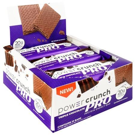 Power Crunch PRO Bar Triple Chocolate - 12 Bars