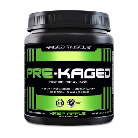Kaged Muscle PRE-KAGED Fruit Punch - 20 Servings