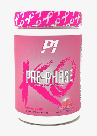 Phase One Nutrition Pre Phase KO Pink Star Candy - 30 Servings *Limited Edition