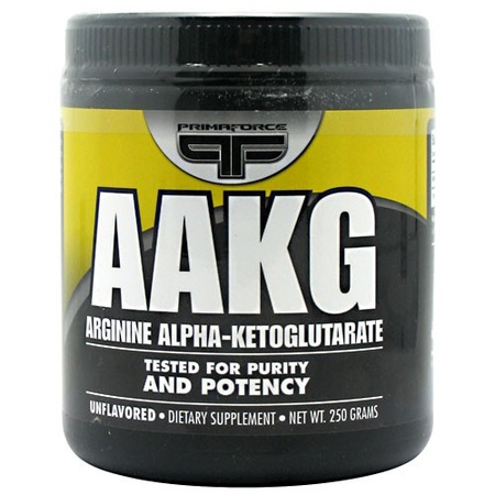 PrimaForce AAKG Arginine Alpha-Ketoglutarate - 250 Grams