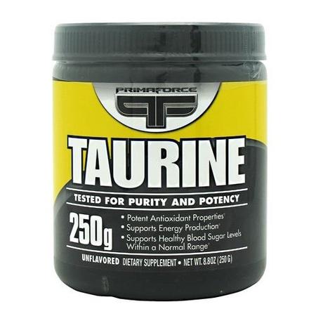 PrimaForce Taurine Powder - 250 Grams