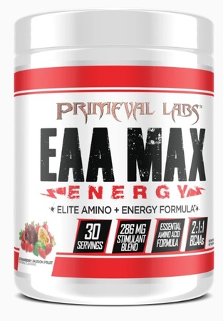 Primeval Labs EAA Max Energy Strawberry Passion Fruit - 30 Servings