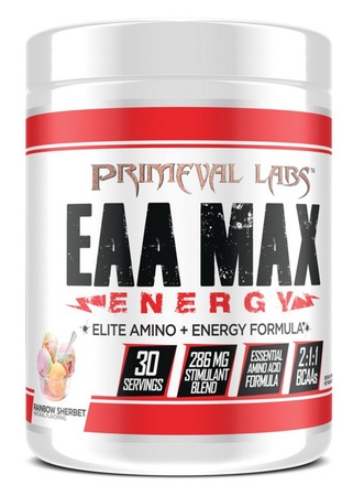 Primeval Labs EAA Max Energy Rainbow Sherbet - 30 Servings