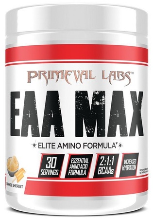 Primeval Labs EAA Max  Orange Sherbert - 30 Servings