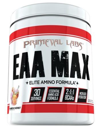 Primeval Labs EAA Max  Rainbow Sherbet - 30 Servings