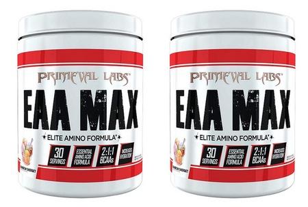 Primeval Labs EAA Max  Rainbow Sherbet - 2 x 30 Servings TWINPACK *$33.73 w/DPS10 code
