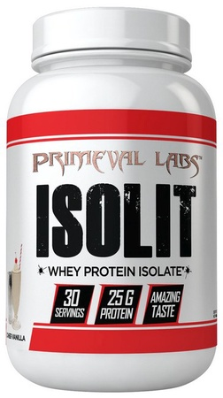 Primeval Labs ISOLIT Whey Protein Isolate Diner Vanilla - 30 Servings