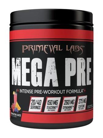 Primeval Labs Mega Pre BLACK Orangutan Juice - 40 Scoops