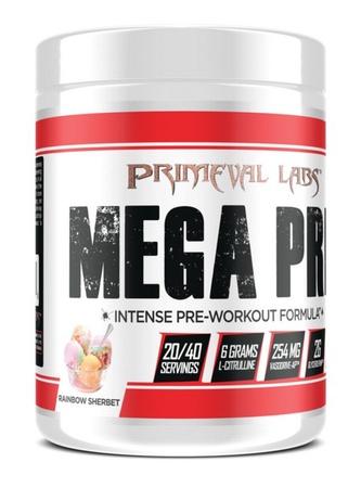 Primeval Labs Mega Pre Rainbow Sherbert - 40 Scoops