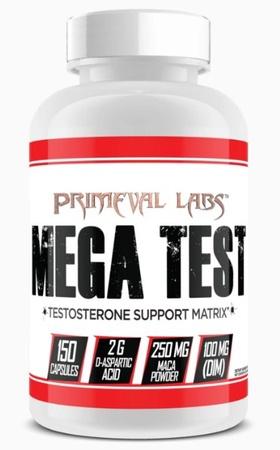 Primeval Labs Mega Test - 150 Cap