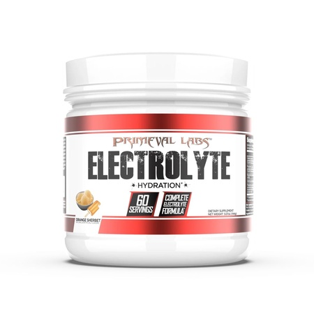 Primeval Labs Electrolyte Drink Powder  Orange Sherbet - 60 Servings