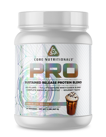 Core Nutritionals PRO Sustained Release Protein Blend Chocolate Mocha - 2 Lb