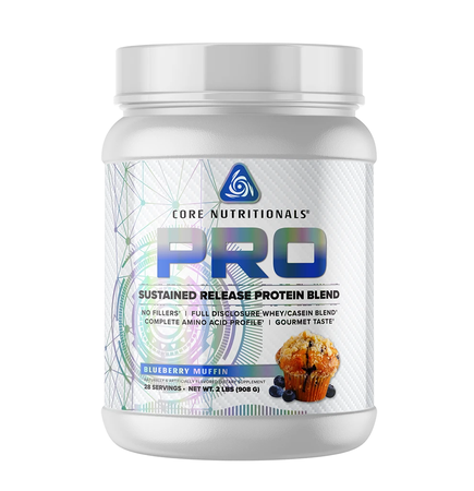 Core Nutritionals PRO Sustained Release Protein Blend Blueberry Muffin - 2 Lb