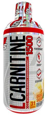 Pro Supps L-Carnitine 1500 Orange Sherbet - 31 Servings