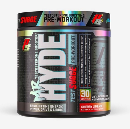 Pro Supps Mr. Hyde TEST Surge Cherry Limeade - 30 Servings