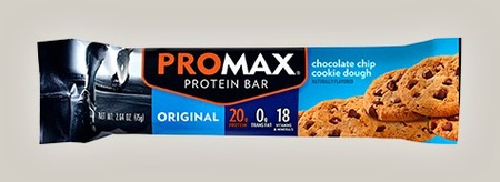 Promax Bars Chocolate Chip Cookie Dough - 12 Bars