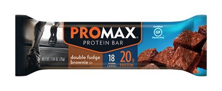 Promax Bars Chocolate Double Fudge - 12 Bars