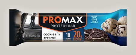 Promax Bars Cookies Cream - 12 Bars
