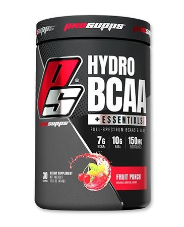 Pro Supps HydroBCAA+ Essentials Fruit Punch - 30 Servings