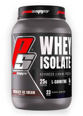 Pro Supps Whey Isolate Protein  Chocolate Ice Cream - 23 Servings