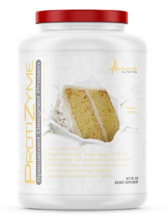 Metabolic Nutrition Protizyme Vanilla Cake - 5 Lb
