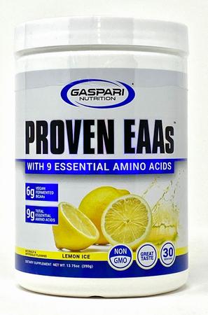 Gaspari Proven EAA Lemon Ice - 30 Servings