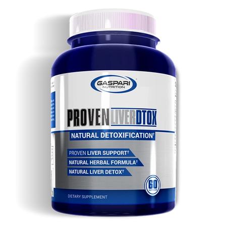 Gaspari Nutrition Proven Liver DTOX - 60 Cap
