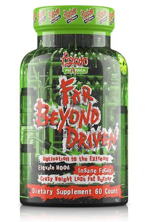 Psycho Pharma Far Beyond Driven - 60 Cap