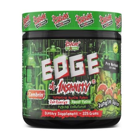 Psycho Pharma Edge of Insanity Pre Workout  Jungle Juice - 25 Servings