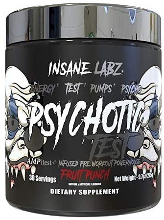 Insane Labz Psychotic Test Fruit Punch - 30 Servings