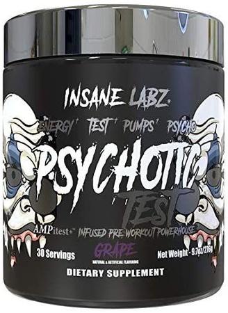 Insane Labz Psychotic Test Grape - 30 Servings