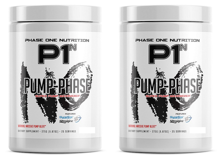 Phase One Nutrition Pump Phase Lemonade Pump - 2 x 25 Servings TWINPACK