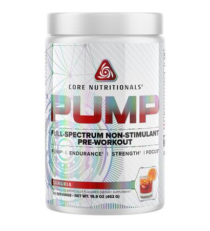 Core Nutritionals PUMP Sangria - 40 Scoops