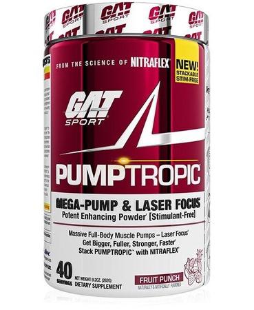 GAT PumpTropic Fruit Punch - 40 Servings