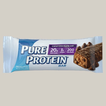 Pure Protein Bars 50g Chewy Chocolate Chip - 6 Bars
