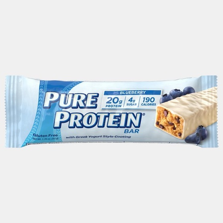 Pure Protein Bars 50g Greek Yogurt Blueberry - 6 Bars