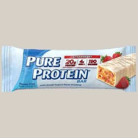 Pure Protein Bars 50g Greek Yogurt Strawberry - 6 Bars