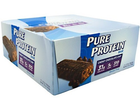 Pure Protein Bars 78g Chewy Chocolate Chip - 12 Bars *Expired 9/20 ($11.99 w/DPS10 code)