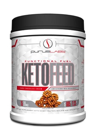 Purus Labs KetoFeed Protein Samoa Chocolate Cream - 15 Servings