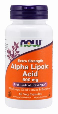 Now Foods Alpha Lipoic Acid 600 Mg - 60 VCaps