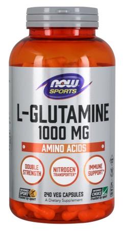Now Foods Glutamine 1000 Mg Cap - 240 Cap