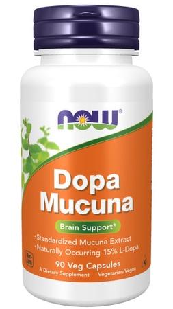Now Foods DOPA Mucuna 15% 500 Mg - 90 Cap