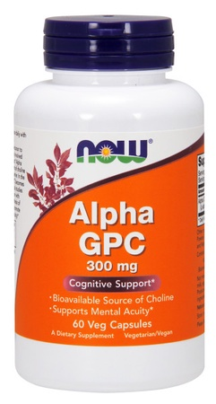 Now Foods Alpha GPC 300 Mg - 60 Cap