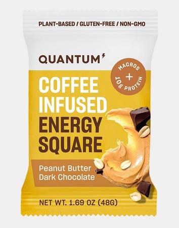 Quantum Energy Squares PB Dark Chocolate - 10 Squares *Expired 12/20