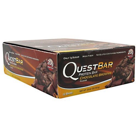 Quest Bar Chocolate Brownie - 12 Bars
