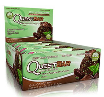 Quest Bar Mint Chocolate Chunk - 12 Bars